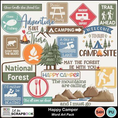 Happycamper_wordart