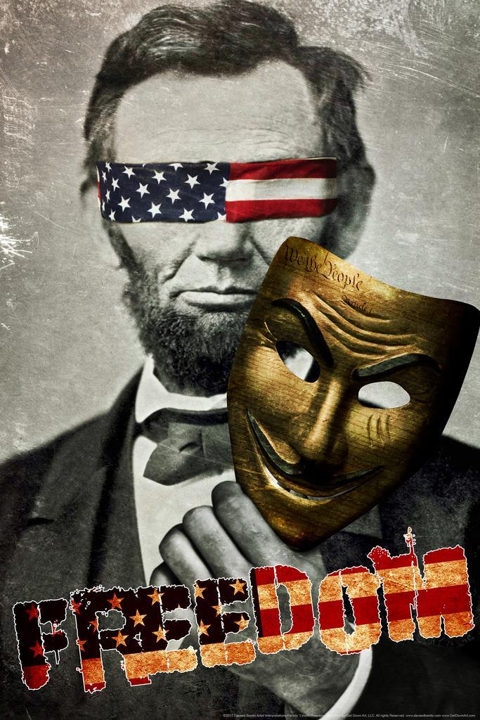 Land of the Free by Daveed Benito inch Poster 24x36 inch