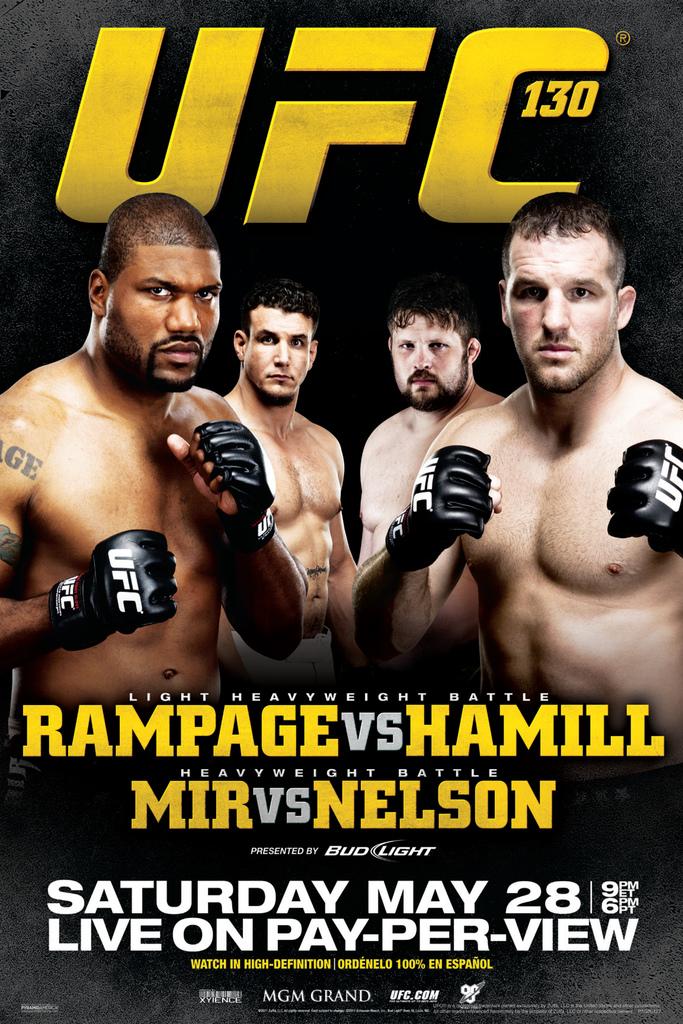 UFC 38 Matt Hughes vs Carlos Newton Sports Poster 12x18