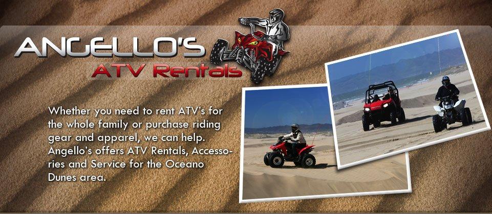 Off road atv rentals
