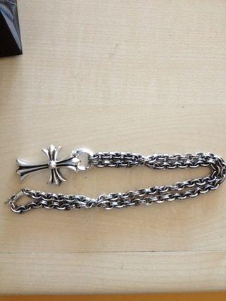 Chrome Hearts Small Cross Paper Chain Pendant Buyma