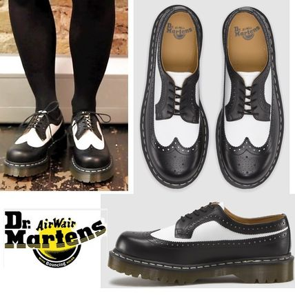 Dr Martens Mariel Black Patent Ribbon Bow Shoe