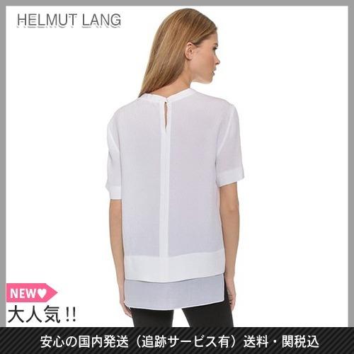 Sale S Size Of Helmut Lang Silk T Shirt Buyma