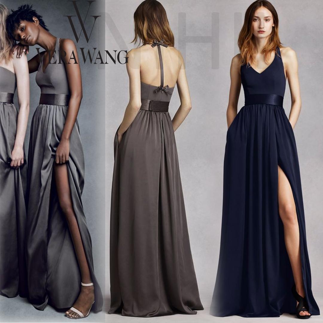 Ceremony Vs Reception Dress: NEW Vera Wang Long Party Dresses