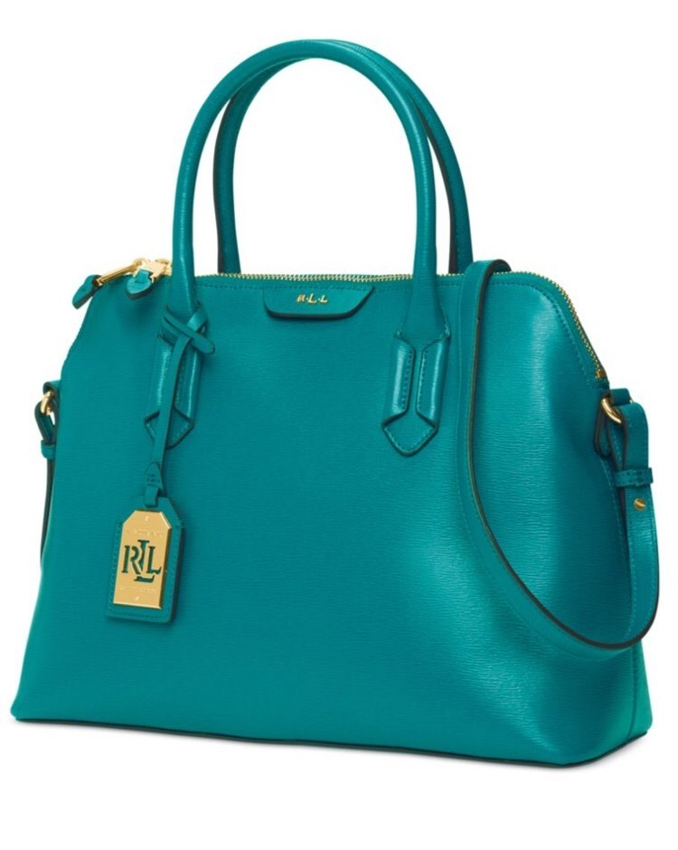 Ralph Lauren Tate Dome Satchel Laukku : Ralph lauren leather handbag buyma