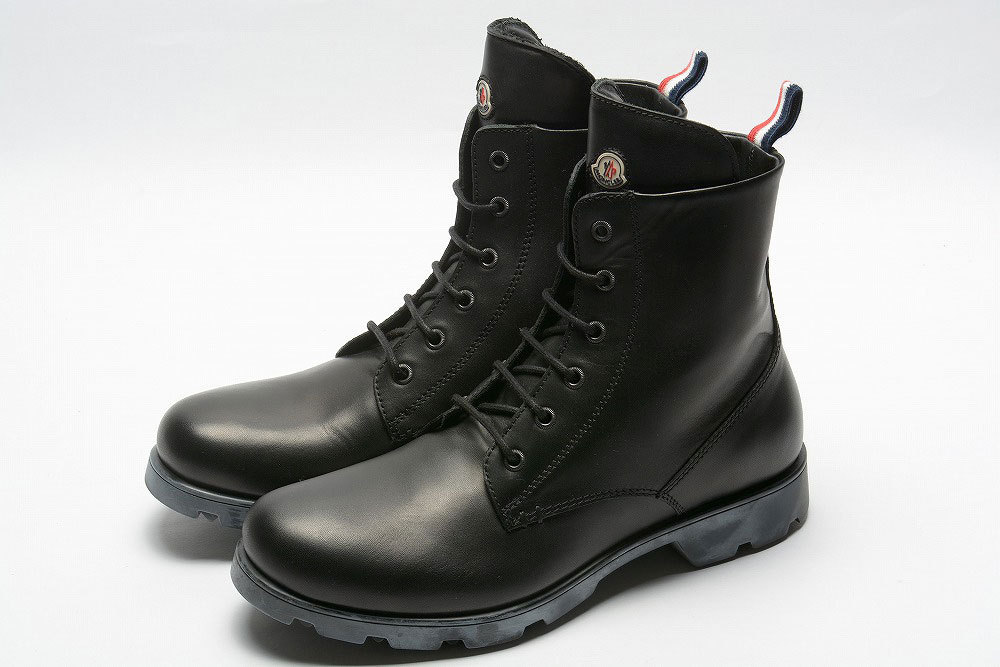 moncler vancouver lace up boot leather buyma