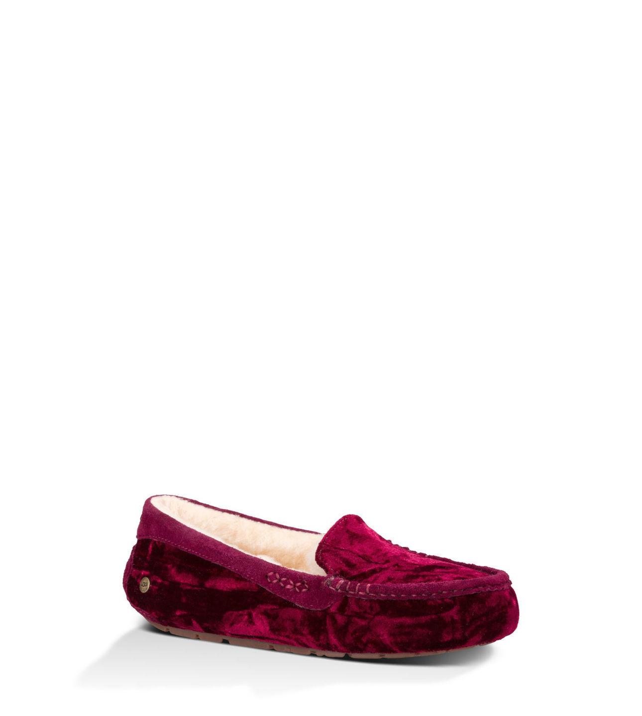 88d1be4ba72 Ugg Ansley Slipper Purple Velvet
