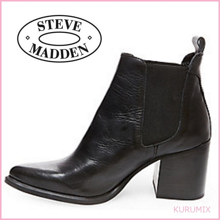 steve madden side goat leather boots buyma