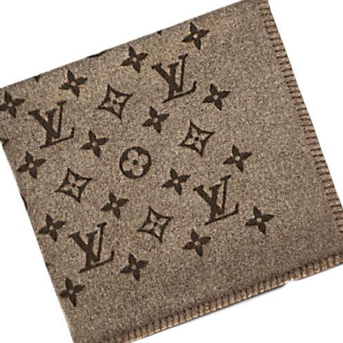 Louis Vuitton Blanket M75690 Monogram Blanket Cover Rug