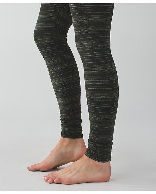 Lululemon * Wunder Under Pant III * Leggings * Gator Green