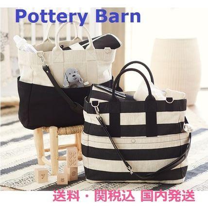 pottery barn classic diaper bag name buyma. Black Bedroom Furniture Sets. Home Design Ideas