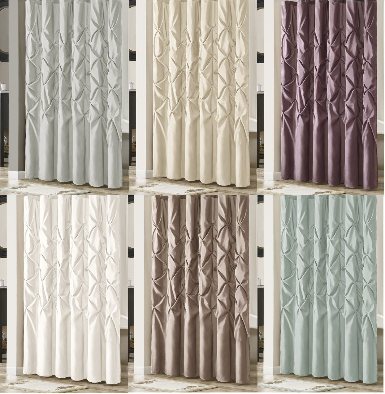 Madison Park This Elegant Shower Curtains And