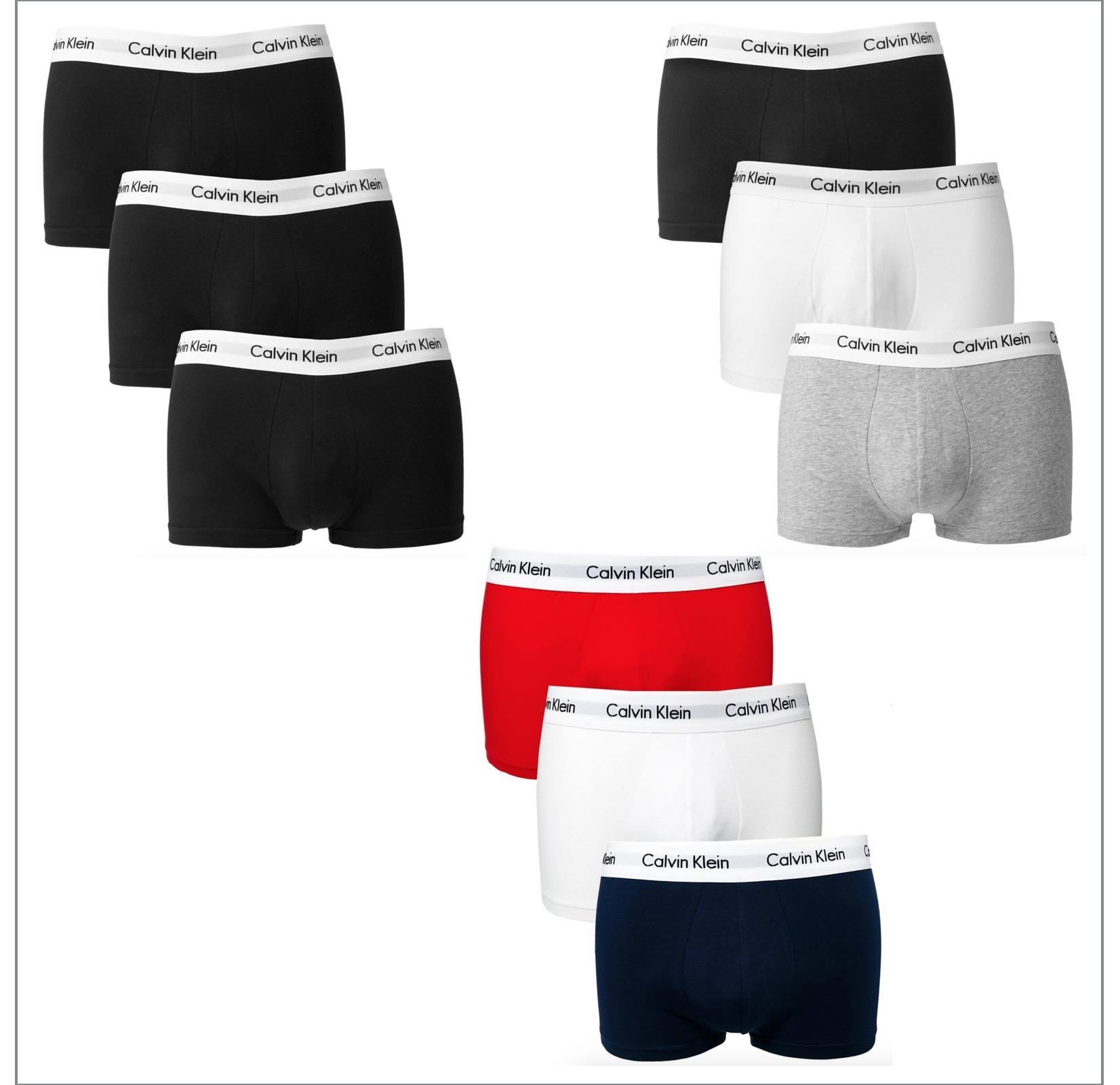 see calvin klein boxer shorts set 3 pieces buyma. Black Bedroom Furniture Sets. Home Design Ideas