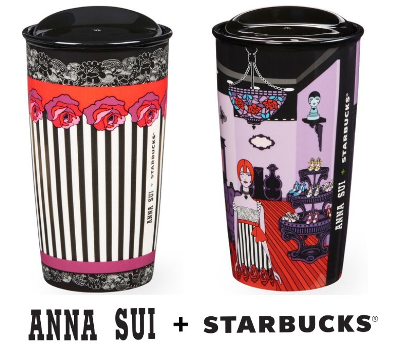 rumors of limited collaboration starbucks x anna sui cup starbucks