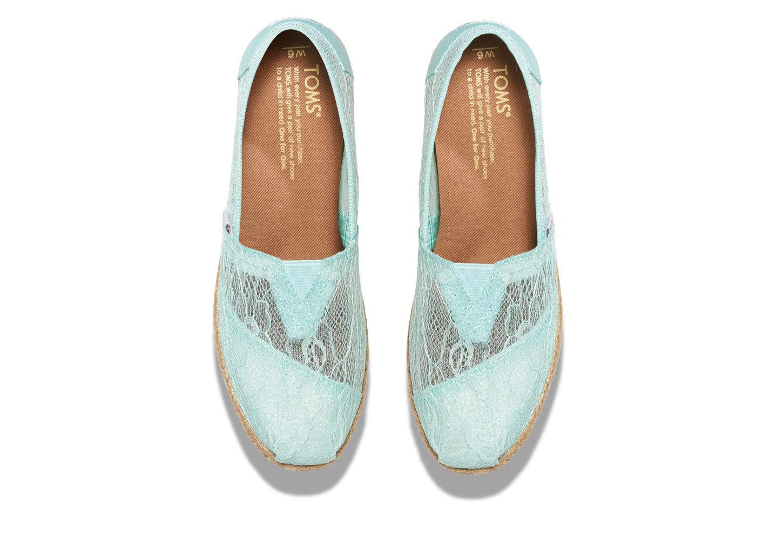 Toms Mint Lace Shoes