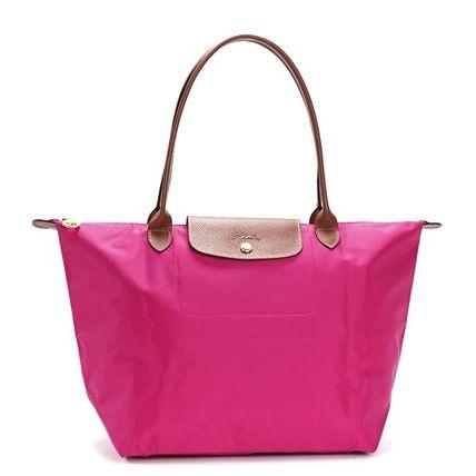 Fashion Cheap Longchamp Le Pliage Tote Bags 2605 089 556 Navy \u0026middot; Longchamp tote bags 1899 089 653 LE PLIAGE color:CYCLAM