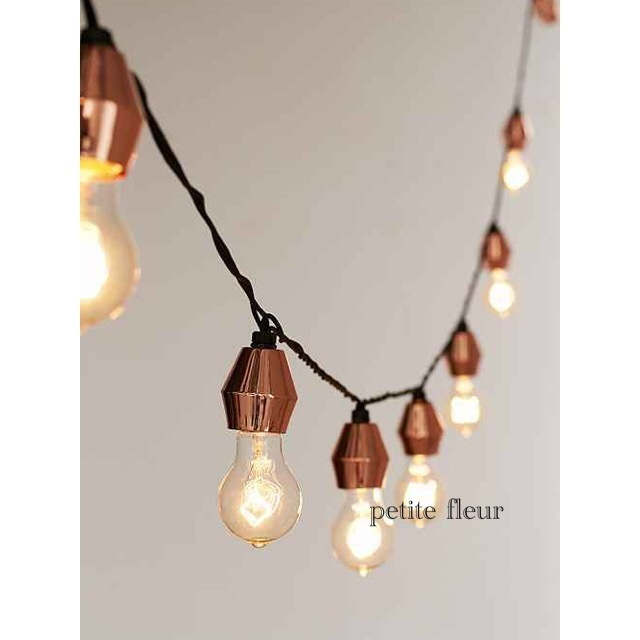 Metal Cap String Lights : About Urban outfitters Metal caps to string lights - BUYMA