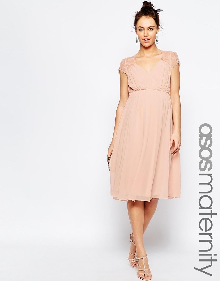 Bridal senka asos wedding party maternity dress buyma for Maternity dresses for wedding party