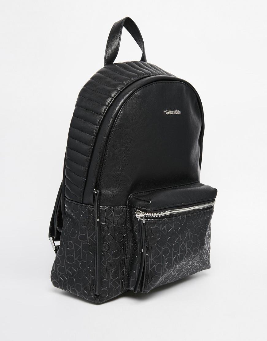 calvin klein quilted backpack buyma. Black Bedroom Furniture Sets. Home Design Ideas