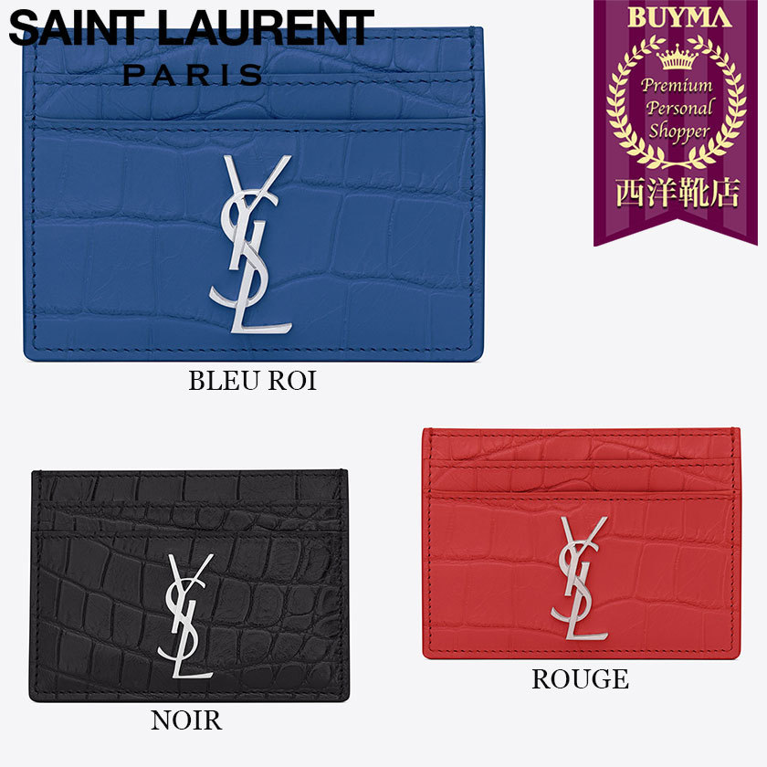 Saint laurent 16ss porte cartes 370778cs30n buyma for Porte carte ysl