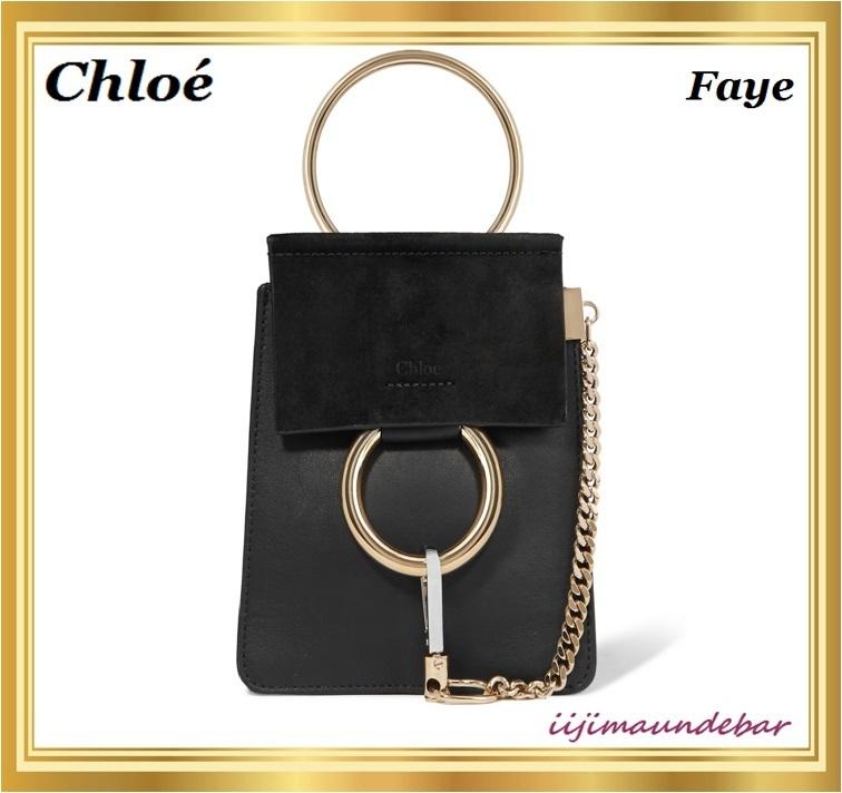 chloe faye mini shoulder bag buyma. Black Bedroom Furniture Sets. Home Design Ideas