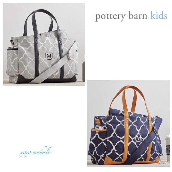 pottery barn classic ikat diaper bag buyma. Black Bedroom Furniture Sets. Home Design Ideas
