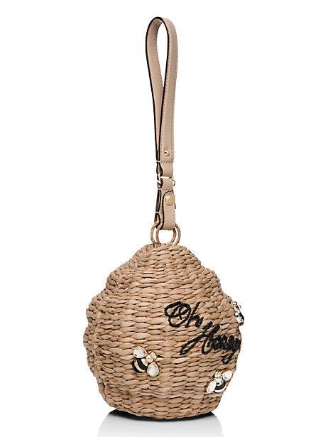 Super cute basket back kate spade hole wicker beehive buyma - Wicker beehive basket ...