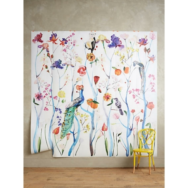 Anthropologie garden chinoiserie mural wallpaper buyma for Anthropologie wallpaper mural