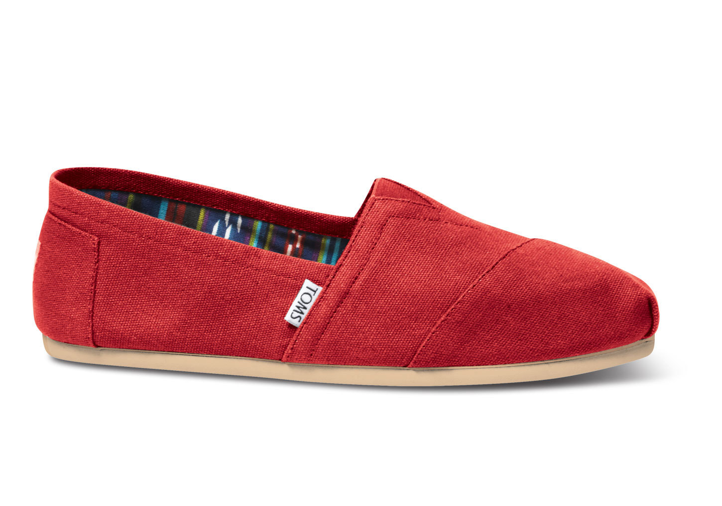 popular toms s slip on shoes canvas buyma