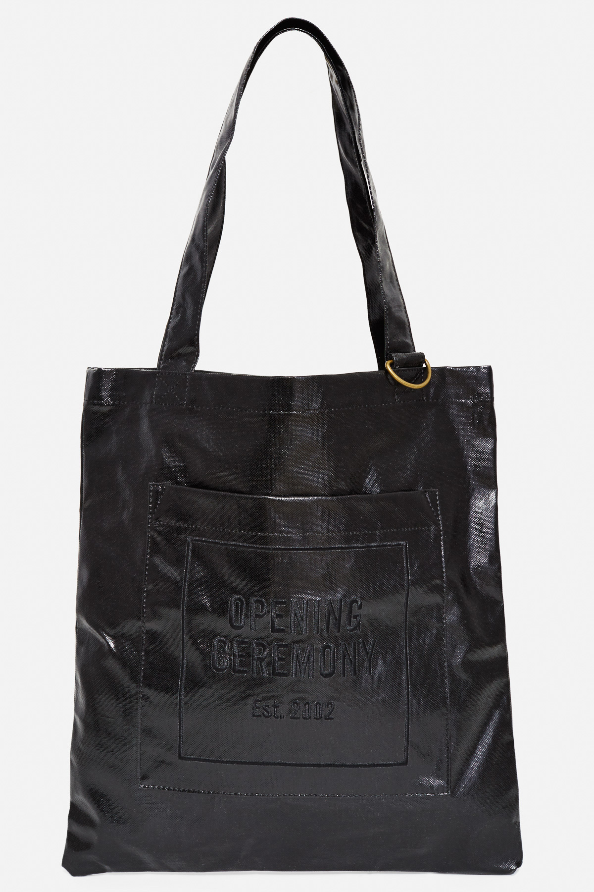 Opening Ceremony Laminated Linen Eco Tote Bag Buyma