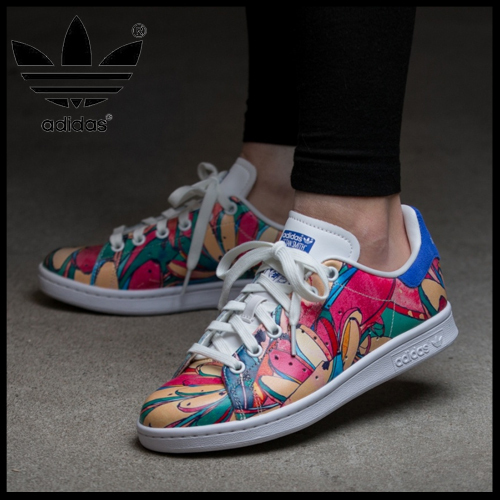 limited edition adidas stan smith stan smith floral sneaker buyma. Black Bedroom Furniture Sets. Home Design Ideas