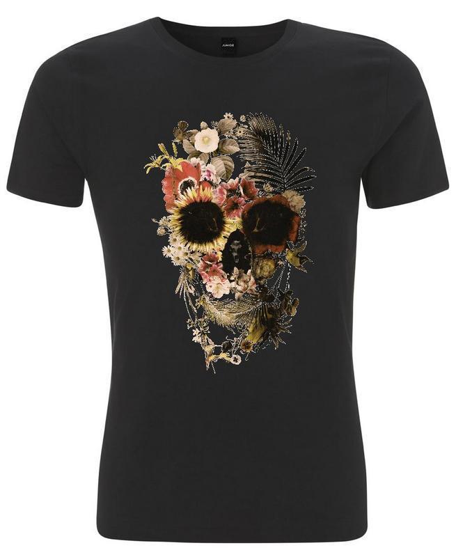 buddha from juniqe garden skull light t shirt by ali gulec buyma. Black Bedroom Furniture Sets. Home Design Ideas