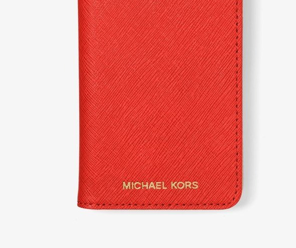 Michael Kors iPhone 6 / 6s-only book type leather case - BUYMA
