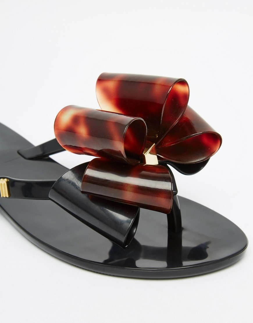 * Melissa big Ribbon with rubber sandals - BUYMA