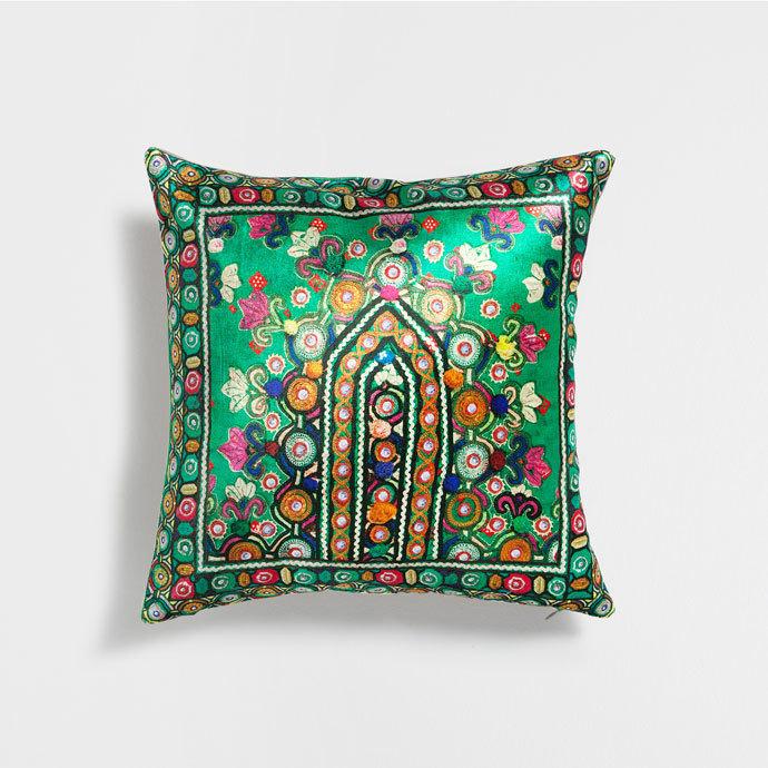 Zara Home Ethnic Print Cushion Cover 40x40 2 Types Buyma