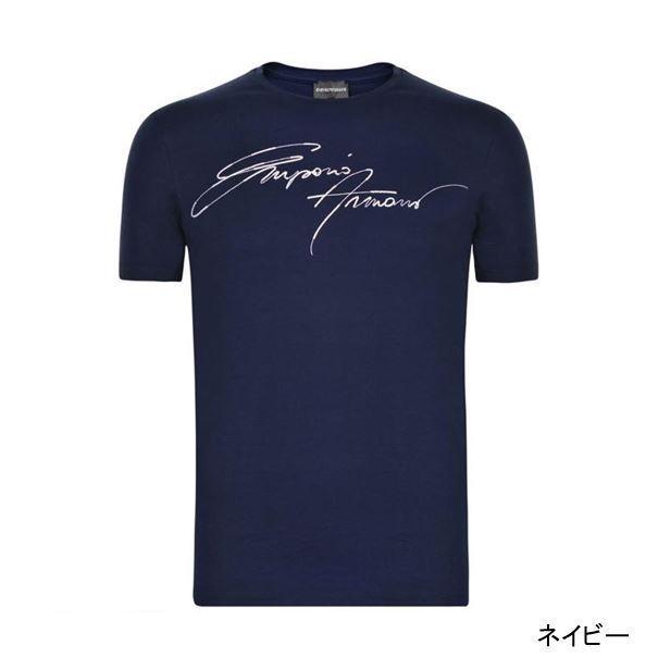 Emporio armani logo embroidery on design t shirt 3 color for T shirt logo embroidery