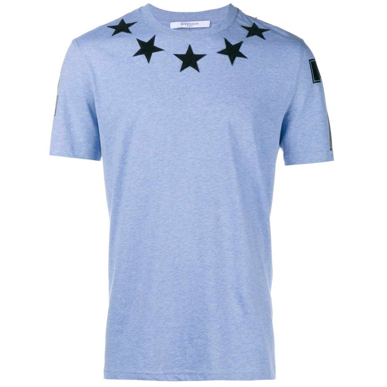 Givenchy star tee tshirt star patch t shirt buyma for Givenchy star t shirt