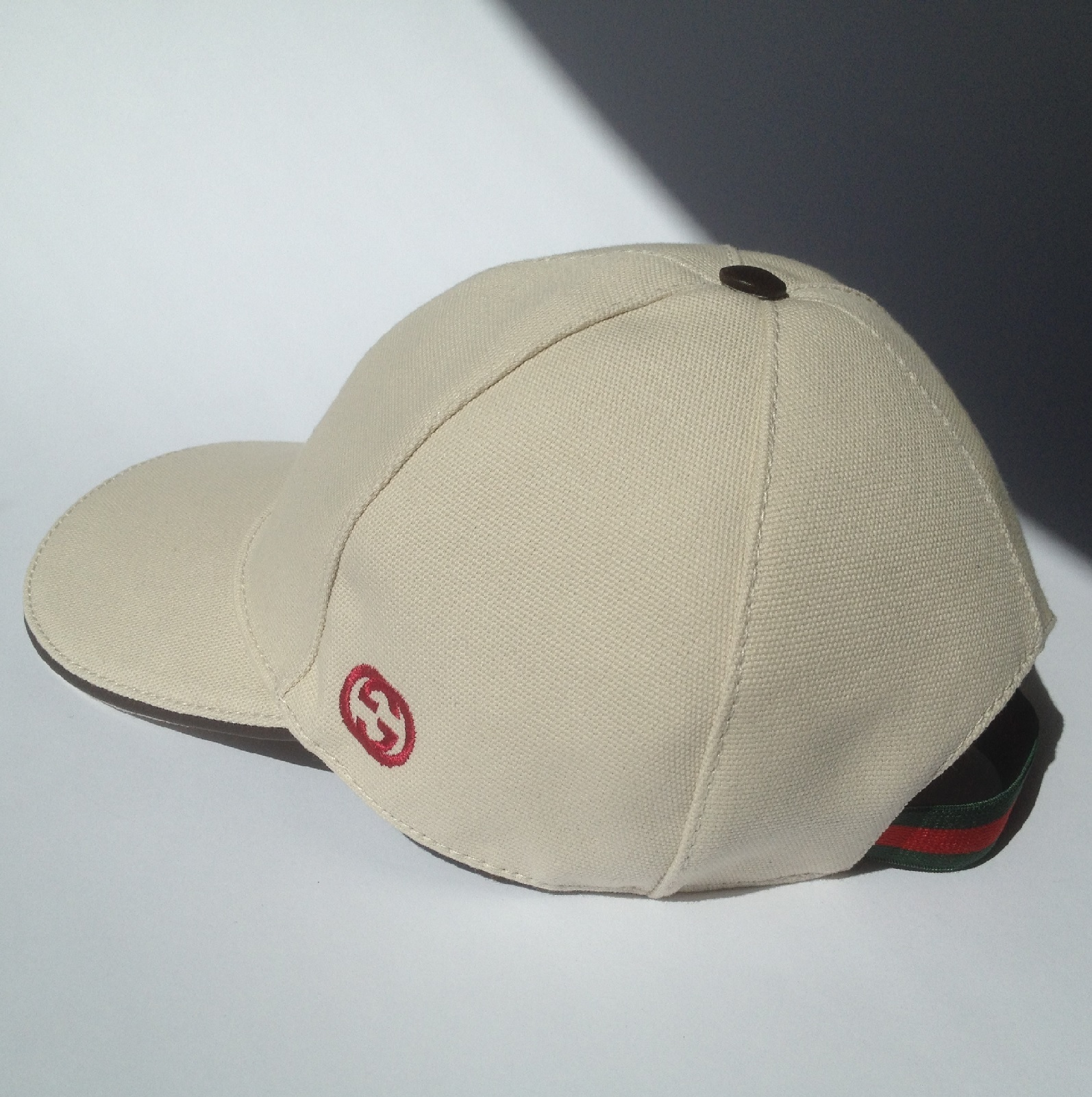 Gucci - GG SUPREME BASEBALL HAT - hats & caps ... |White Gucci Hat