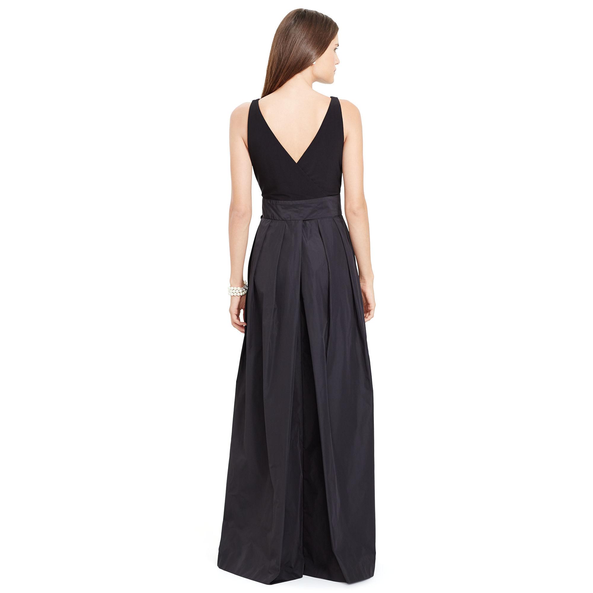 ralph lauren west ribbon v back feminine gowns buyma. Black Bedroom Furniture Sets. Home Design Ideas
