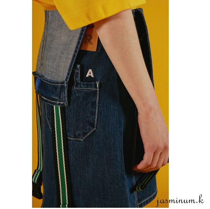 adererror ada error denim suspender skirt buyma