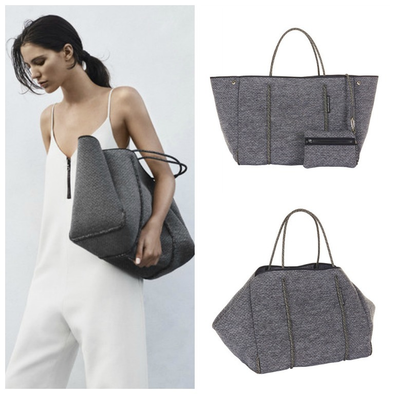 State Of Escape Pouch With Tote Bag Charcoal Buyma