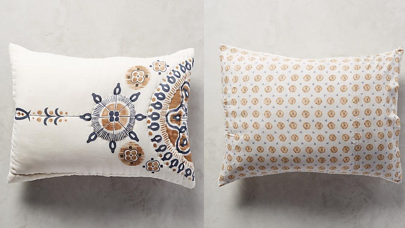 Sale-Anthropologie * pillow cover 2 pieces - BUYMA