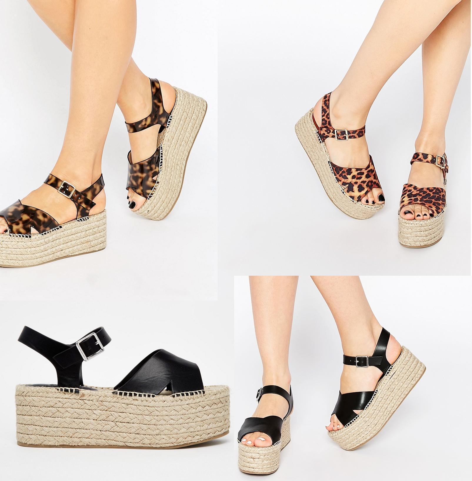 asos cross strap espadrille sandals buyma. Black Bedroom Furniture Sets. Home Design Ideas