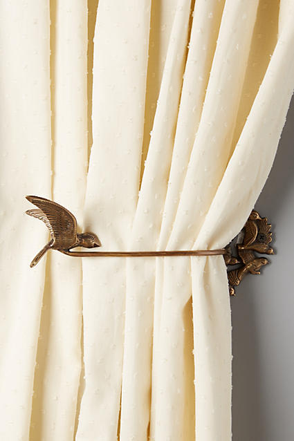 Anthropologie Migratory Curtain Hooks Set Of 2 Buyma