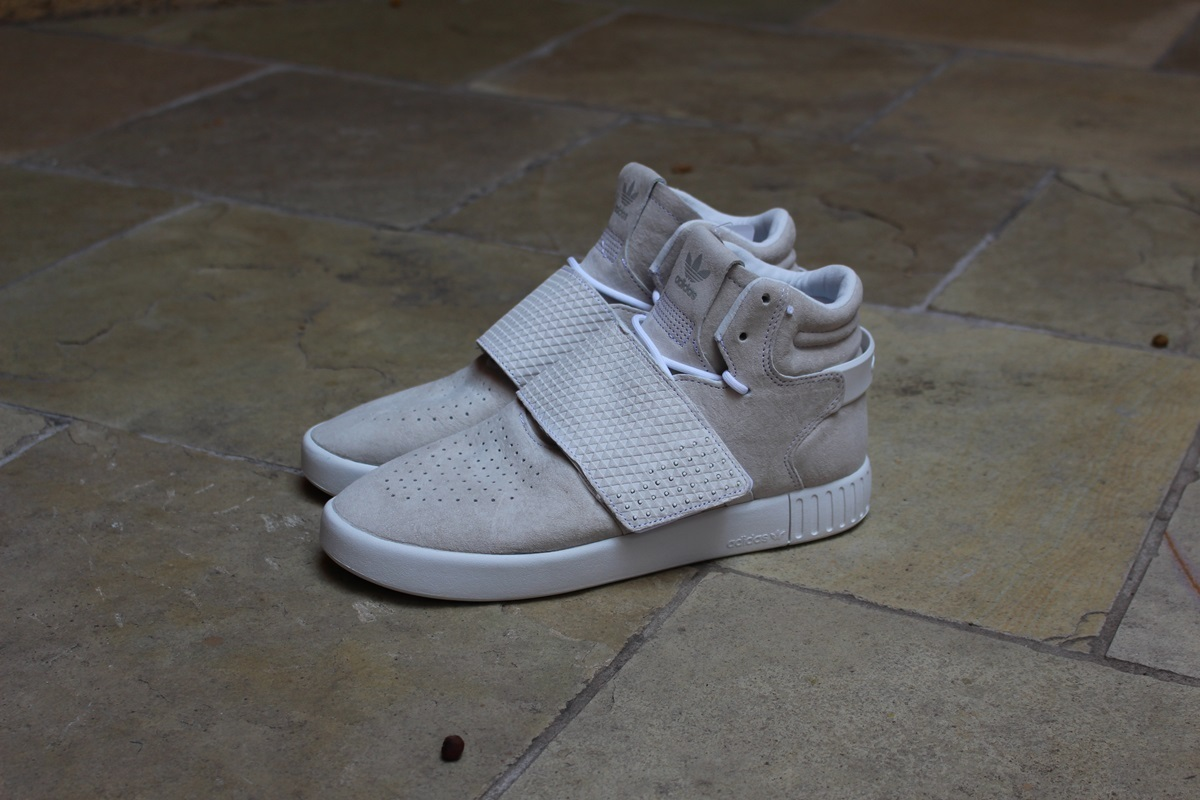 Adidas Tubular Invader Strap (Core Black) End