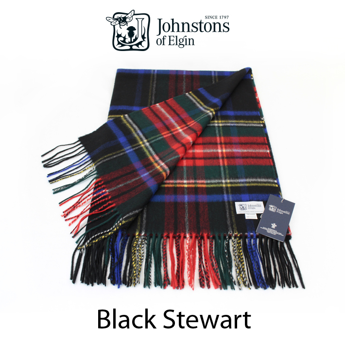 -Friendly johnstons of Elgin cashmere scarf 2016AW WA ...
