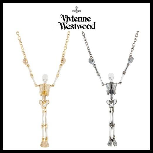 vivienne westwood sale skull necklace buyma