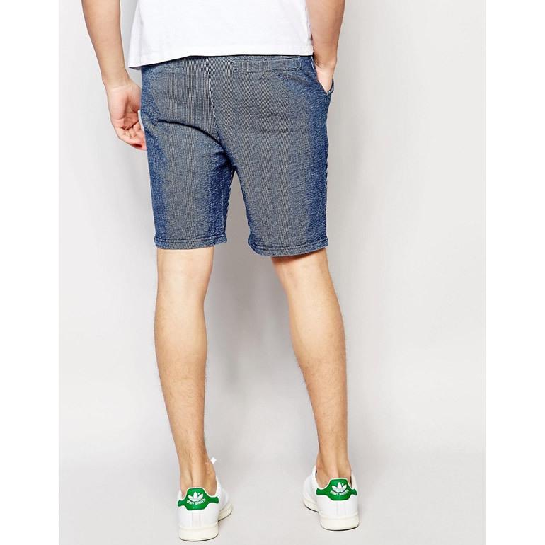 ron herman handled native youth logo with short shorts