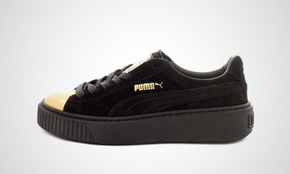 puma suede platform black buyma. Black Bedroom Furniture Sets. Home Design Ideas
