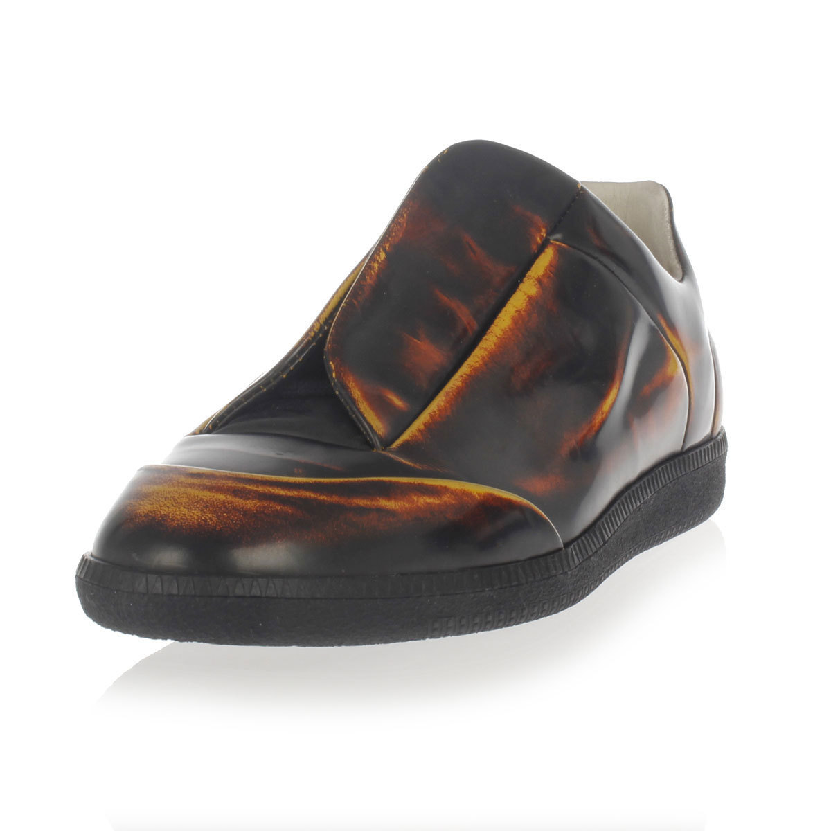 low cost maison margiela mm22 leather shoes buyma
